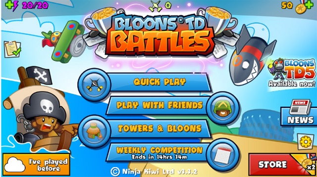 Лучшие игры для Windows Phone Balloons TD Battle