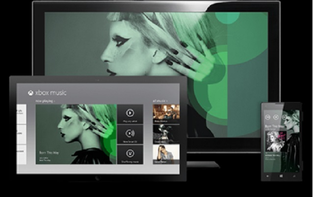 Windows Phone 8 GDR2 обновления для Xbox Music