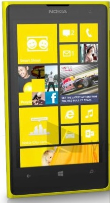 Телефон на Windows Phone 8: Nokia Lumia 1020