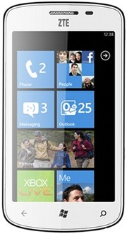 Телефон на Windows Phone 8: ZTE Tania