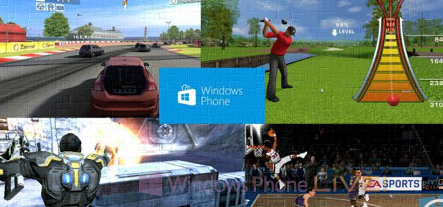 4 новых эксклюзива для Nokia Lumia: Mass Effect Infiltrator, Real Racing 2, Tiger Woods 12 и NBA JAM