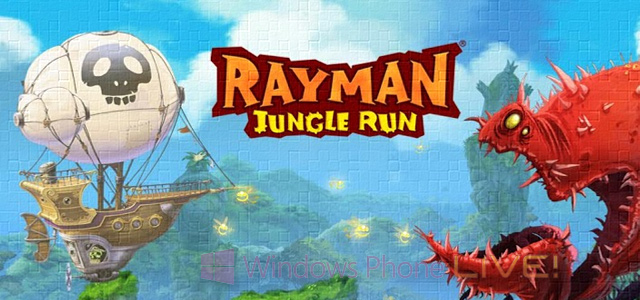 Игра Rayman Jungle Run от Ubisoft появилась на Windows Phone 8