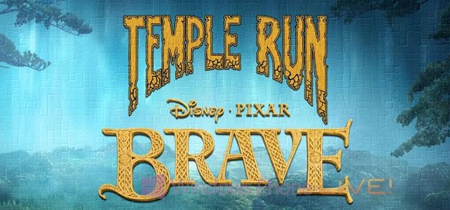 Temple Run: Brave от Disney уже на Windows Phone 8, но не в России