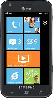 Телефон на Windows Phone 8: Samsung Focus S