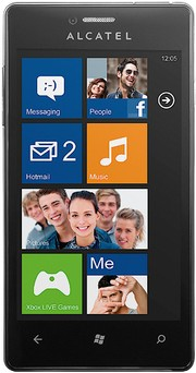 Телефон на Windows Phone 8: Alcatel One Touch View