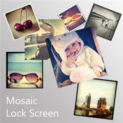 Lock Screen Mosaic для Windows Phone