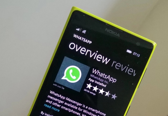 Проблемы с Whatsapp на Windows Phone 7.x
