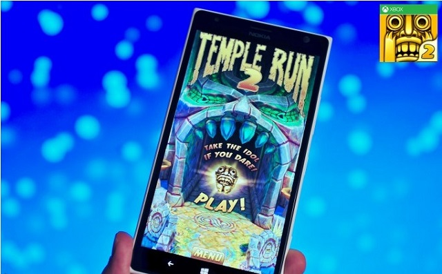 Temple Run 2 в Windows Phone Store